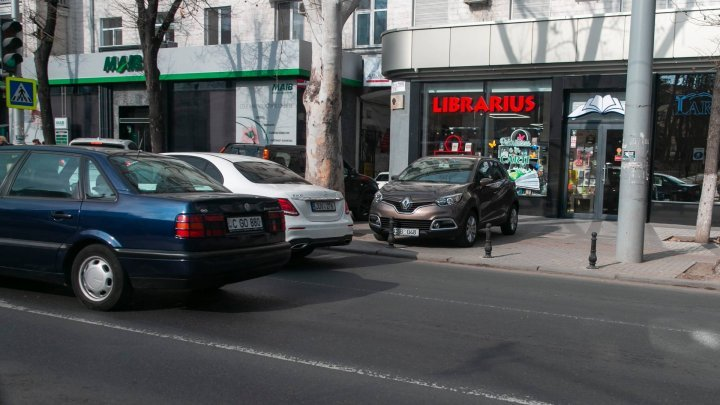 С 22 апреля полиция будет штрафовать за неправильную парковку
