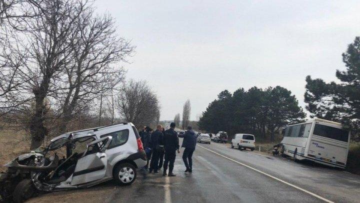 Подробности аварии в Новых Аненах: водитель уснул за рулем (видео)