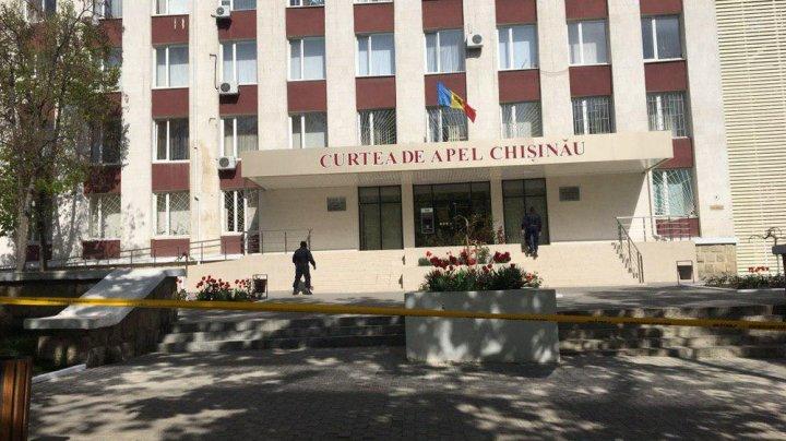 Неизвестный сообщил о бомбе в Апелляционной палате Кишинева