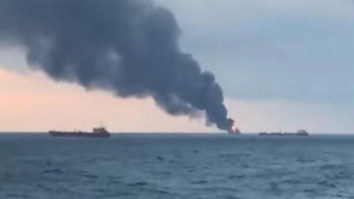 На пассажирском судне у берегов Франции произошел пожар