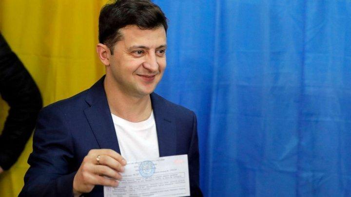 Украина сделала свой выбор: Владимир Зеленский стал новым президентом Украины