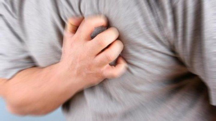 Около 60% зарегистрированных смертей в Молдове происходит из-за сердечных приступов