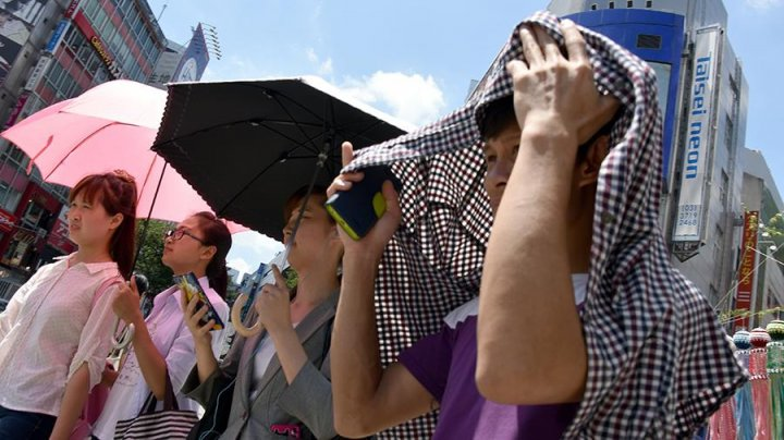 В Японии из-за сильной жары погибли четыре человека