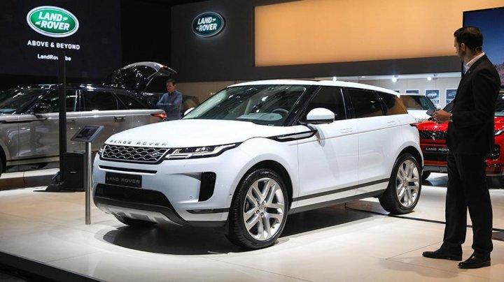 Электрический Range Rover Evoque появится не раньше 2025 года