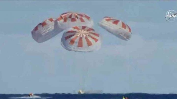 В SpaceX подтвердили потерю капсулы Crew Dragon