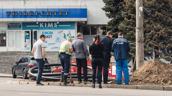 В Днепре возле университета нашли человеческие кости (фото)