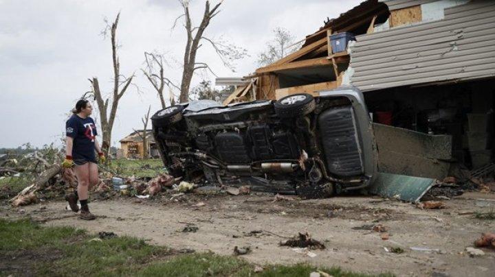 В США 130 человек получили ранения во время торнадо