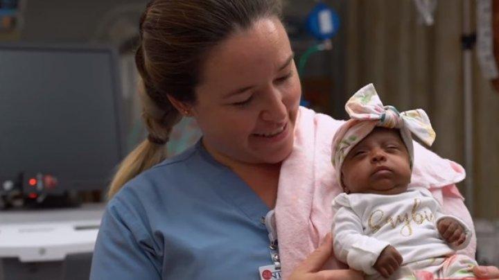В США выходили самого крошечного новорожденного