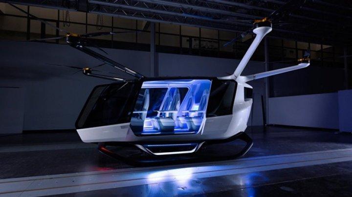 В США показали летающее такси (видео)