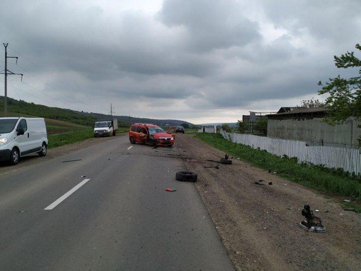 30-летняя женщина пострадала в аварии вблизи Хынчешт (фото)