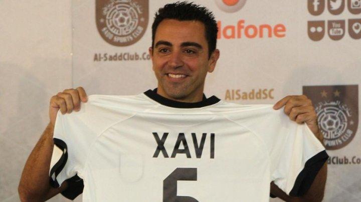 Испанский футболист Хави завершил свою карьеру игрока