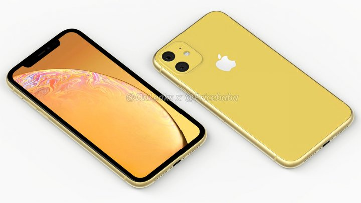 Каким окажется двухкамерный iPhone XR 2019: рендеры