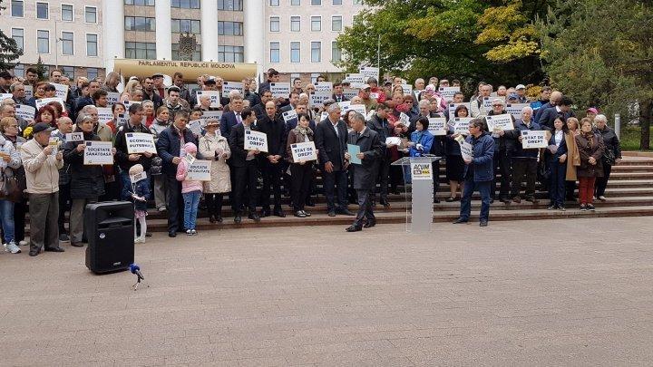 Блок ACUM организовал мероприятие, посвященное Дню Европы