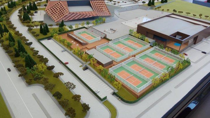 Строительство Arena Chişinău завершено на 65% (фото)