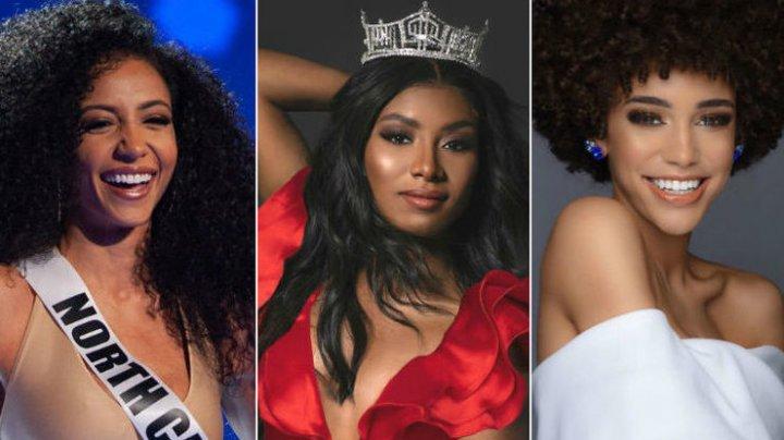 Впервые все три главных конкурса красоты США выиграли темнокожие участницы