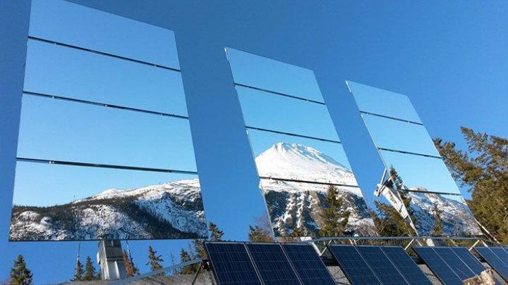 В городе, где в течение 5 месяцев нет солнца, придумали имитацию солнечного света (фото)