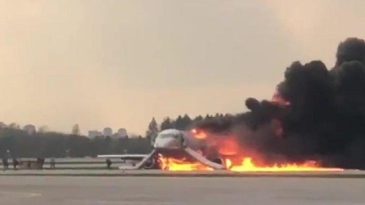 """Экипаж сгоревшего """"суперджета"""" при заходе на посадку не выпустил закрылки"""