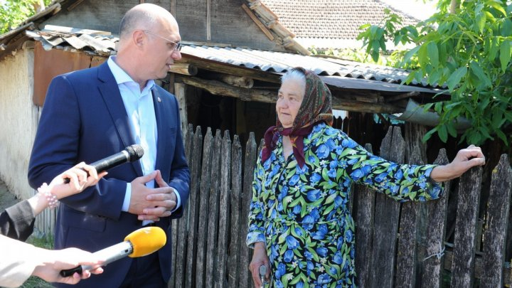 Павел Филип: Правительство выделит 1 млн леев селам, пострадавшим от наводнений