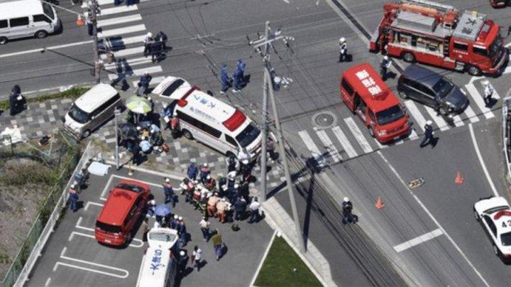 Двое детей погибли при наезде автомобиля на дошкольников в Японии