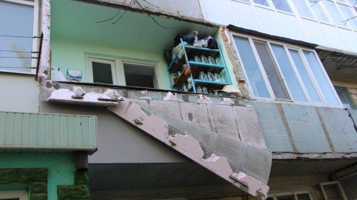 Взрыв во Флорештах: хозяин квартиры отделался ожогами на руках и лице (фото)