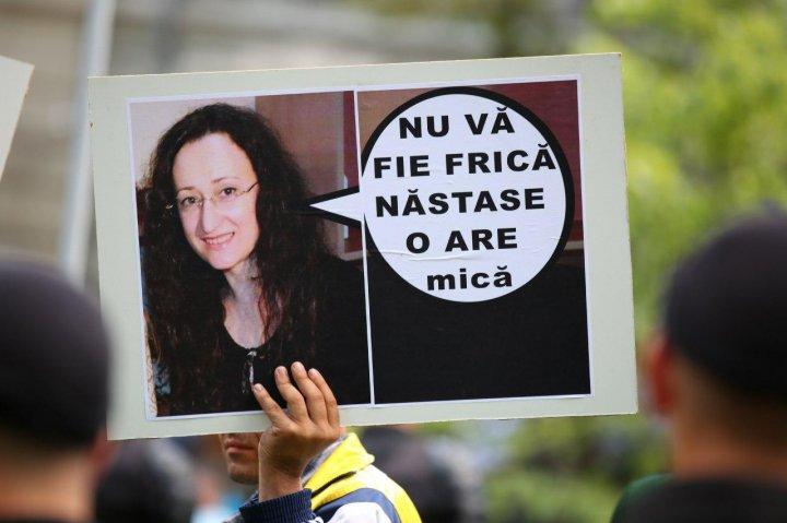 Сотни молодых людей, недовольные действиями Нэстасе и Санду, вышли на протест (фото)
