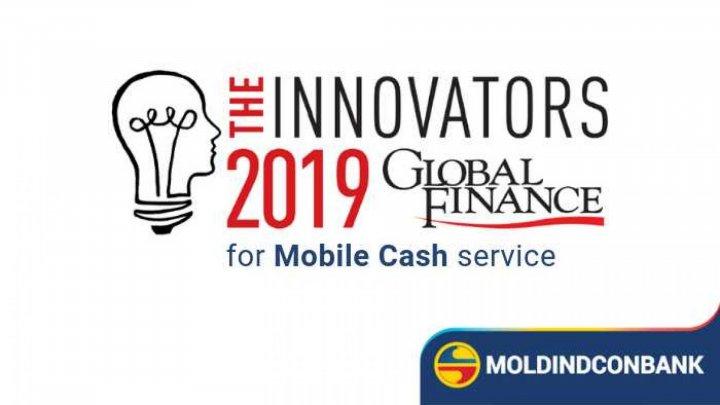 """Moldindconbank был признан """"Самым инновационным банком 2019"""""""