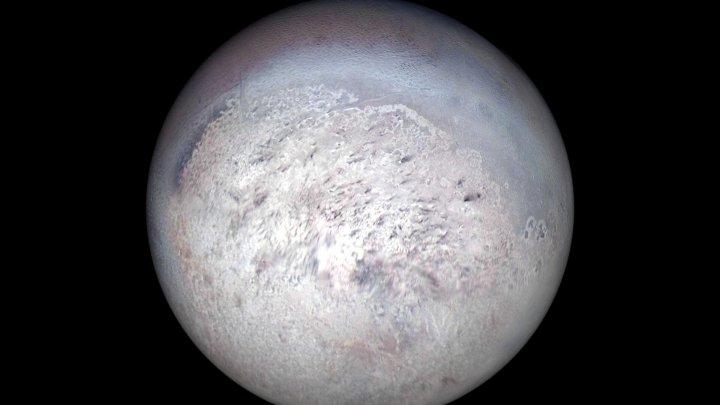 На спутнике Нептуна обнаружили экзотическую форму льда