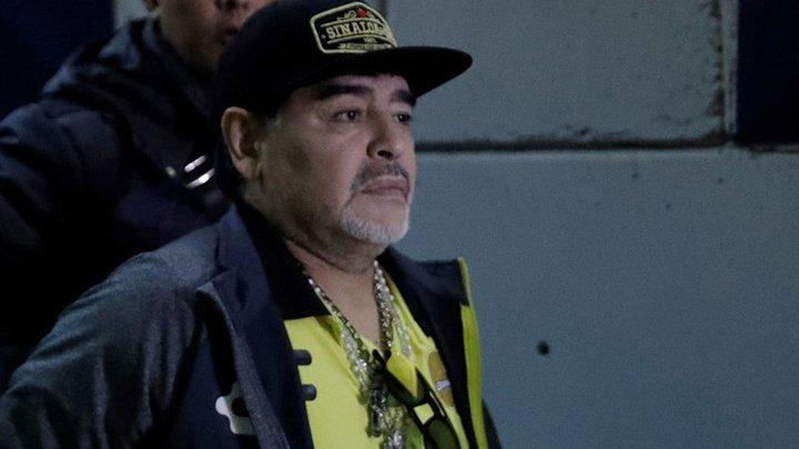 Диего Марадона был задержан в аэропорту Буэнос-Айреса