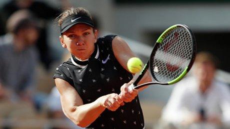Теннис: Симона Халеп выбыла во втором круге турнира в Риме