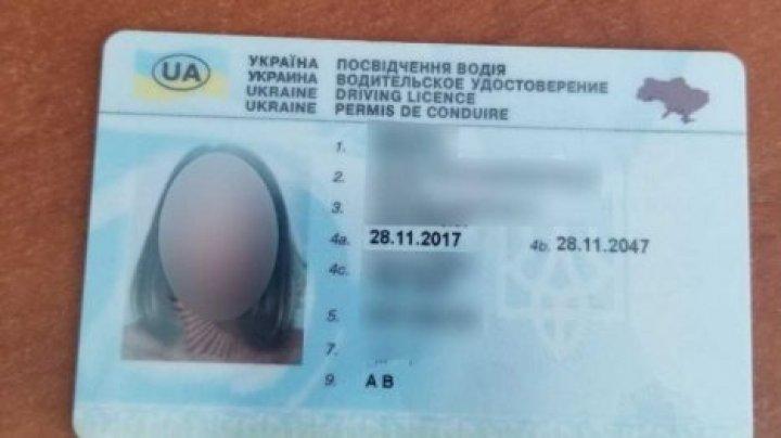Украинку с поддельными водительскими правами задержали на молдавской границе