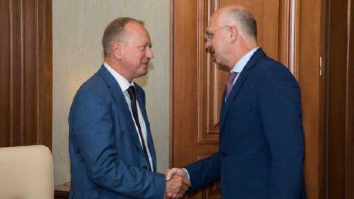 Павел Филип провел встречу с Виктором Крыжановским
