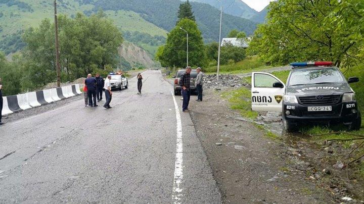 В Грузии при ДТП в горах погиб один человек