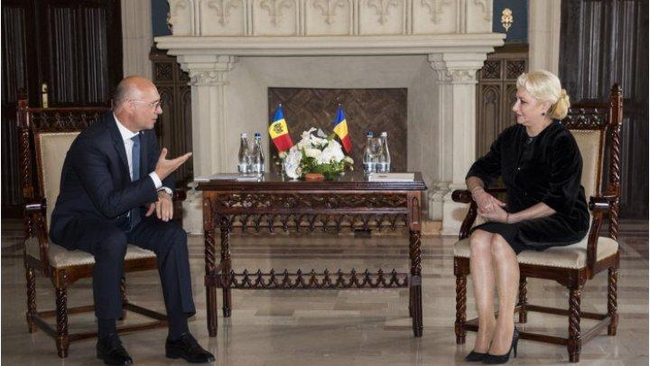 Павел Филип провел встречу с румынской коллегой Виорикой Дэнчилэ в Яссах