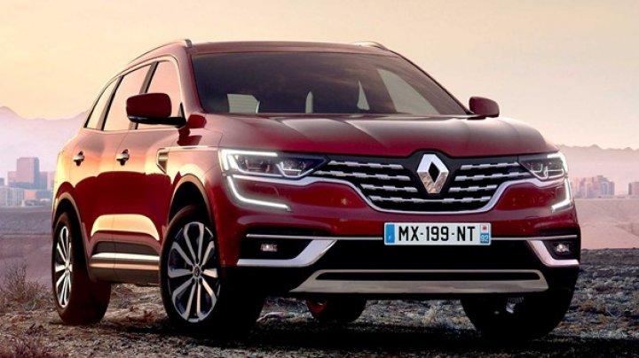 Renault показала обновленный кроссовер Koleos
