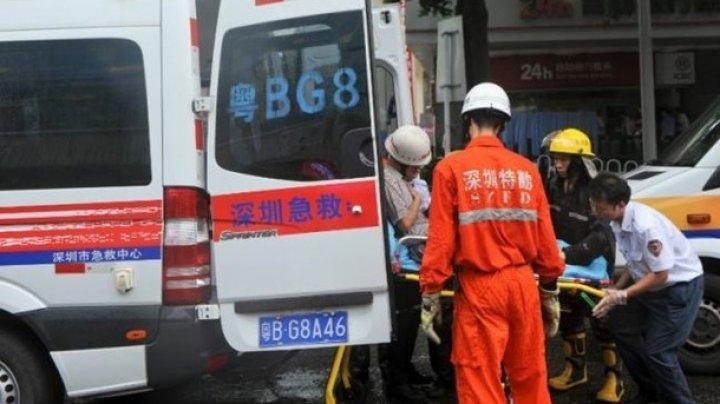 В Китае рухнул мост с автомобилями