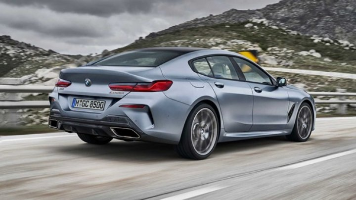 BMW показала купе 8 Series Gran Coupe