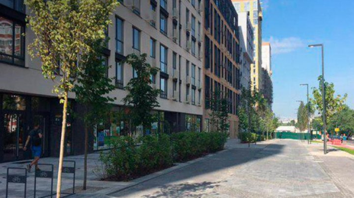 В Киеве открыли первую smart-улицу