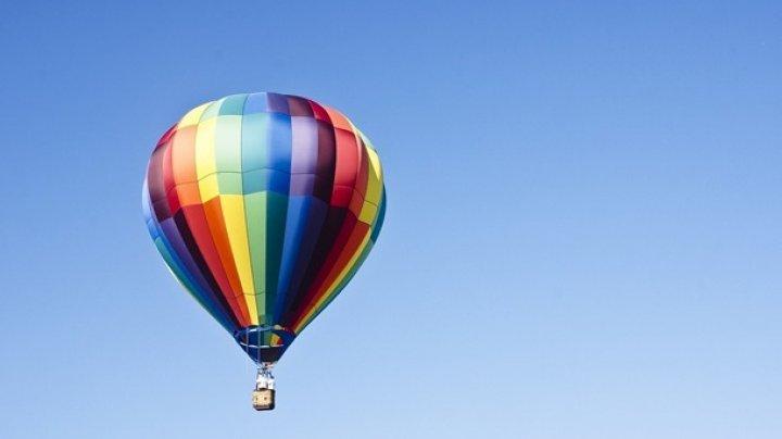 Воздушный шар с туристами унесло в горы в Египте