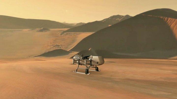 NASA отправит аппарат для поиска жизни на Титане