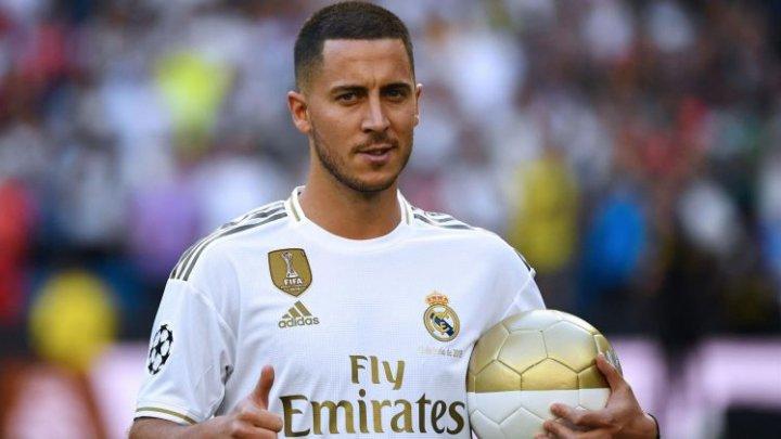 """Мадридский """"Реал"""" представил бельгийского полузащитника Эдена Азара"""
