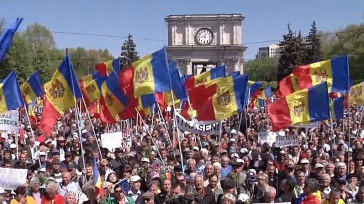В центре Кишинева состоится митинг: граждане выходят на улицу, чтобы защитить конституционный строй Молдовы