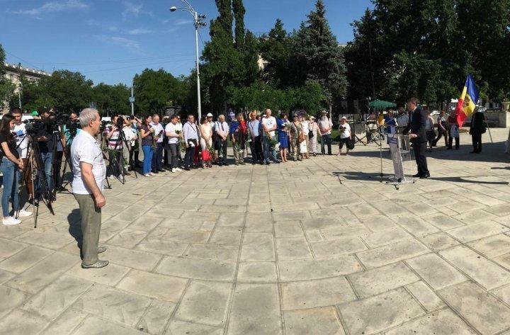 В Кишиневе прошло памятное мероприятие: вспоминали жертв первой волны депортаций