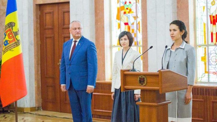 Новый министр юстиции не смогла ответить на вопрос, что намерена сделать в первую очередь