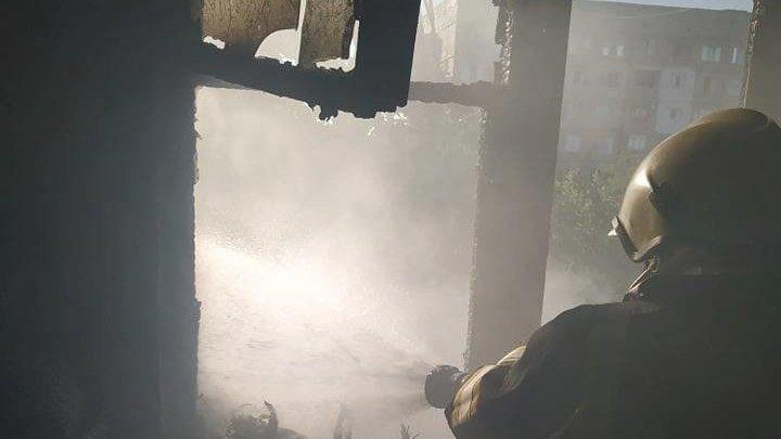 Подробности пожара в квартире на Буюканах
