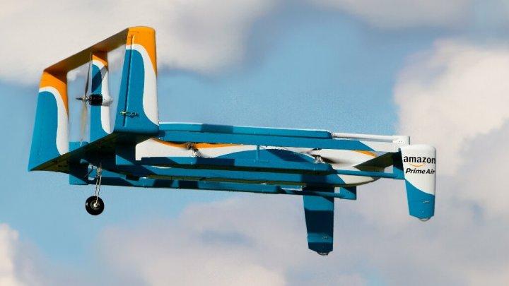 Amazon введет доставку товаров дронами в ближайшие несколько месяцев
