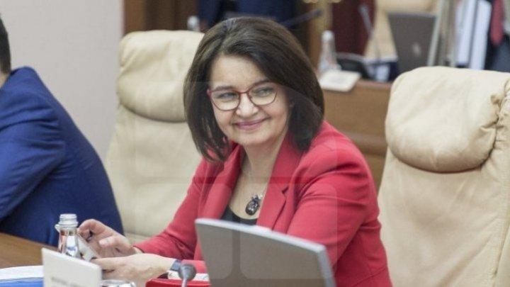 Моника Бабук поблагодарила коллег за их работу в правительстве, за сотрудничество, доверие и поддержку