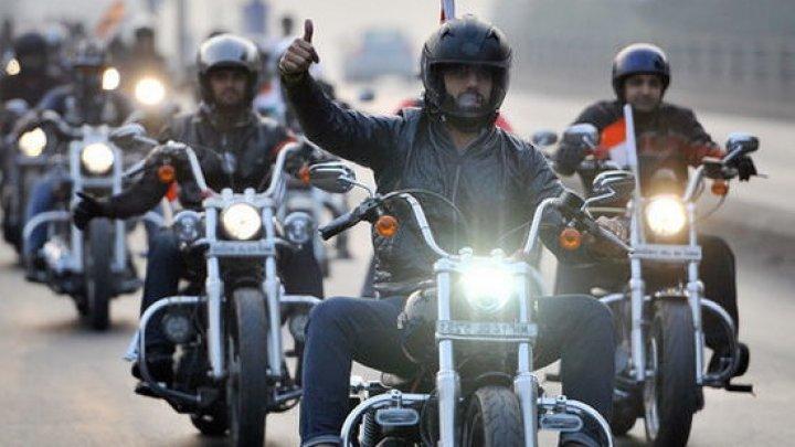 В Молдове отмечают Международный день мотоциклиста