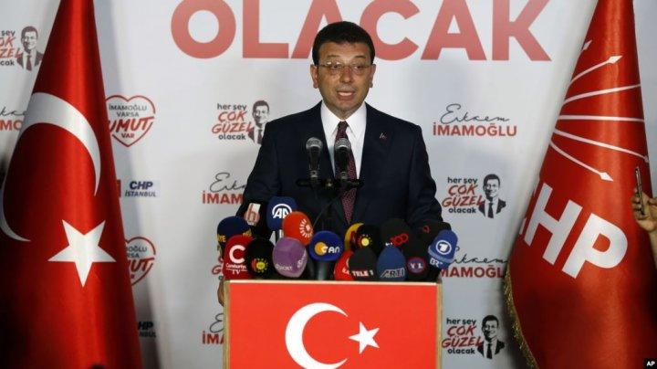 На повторных выборах мэра Стамбула снова победил оппозиционер