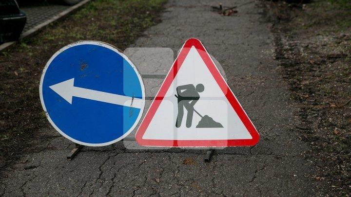 Дорожное движение на улицах Флорилор и Студенческой будет ограничено на несколько дней