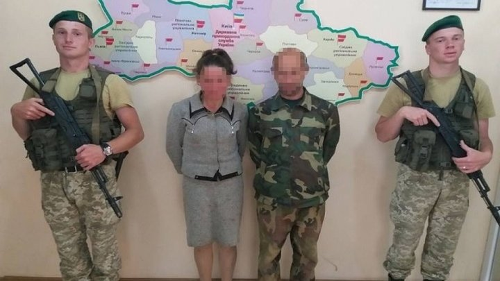Россиянин с женой-молдаванкой хотели незаконно пересечь границу Украины